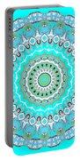 My Blue Heaven Mandala Portable Battery Charger