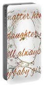 My Daughter - My Baby Girl 2 Portable Battery Charger