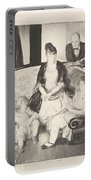 My Family, Second Stone George Bellows  Portable Battery Charger