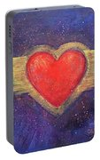 My Heart My Strength Portable Battery Charger