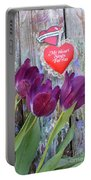 My Heart Sings For You Portable Battery Charger