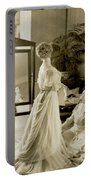 My Lady Daisy Portable Battery Charger by DigiArt Diaries by Vicky B Fuller