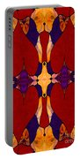 My Love Is Alive Abstract Bliss Art By Omashte Portable Battery Charger
