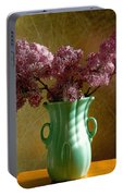 My Mother's Lilacs Portable Battery Charger