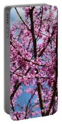My Redbuds In Bloom Portable Battery Charger