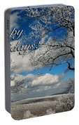 My Sunday Happy Holidays Card Portable Battery Charger