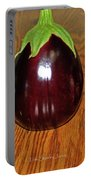 My Three Eggplant Fruits Portable Battery Charger
