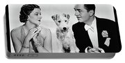 Myrna Loy Asta William Powell Publicity Photo The Thin Man 1936 Portable Battery Charger