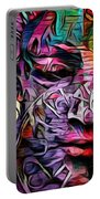Mystic City Faces - Version B  Portable Battery Charger