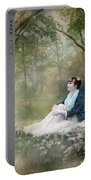 Mystic Contemplation Portable Battery Charger