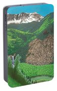 Mystic Falls On Lake Fork San Miguel River Portable Battery Charger