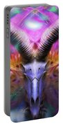 Mystic Flower  Portable Battery Charger