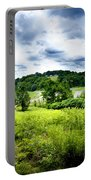 Mystic Hillside Portable Battery Charger