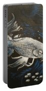 Mystic Koi Portable Battery Charger