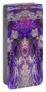 Mystic Waterfall - Purple Hues Portable Battery Charger