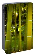Mystical Bamboo Portable Battery Charger