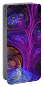 Mystical Caves Of Halyon Portable Battery Charger