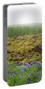 Mystical Island Portable Battery Charger by Matthew Wolf