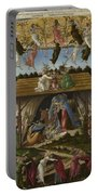Mystical Nativity Portable Battery Charger