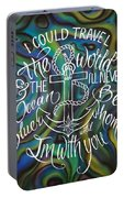 N/z Abalone /lettering Portable Battery Charger