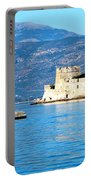 Naflion Greece Harbor Fortress Portable Battery Charger