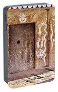Nag Temple Doorway - Huri India Portable Battery Charger