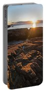 Nahant Ma Castle Rock Carved Rock Portable Battery Charger
