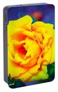 Nana's Yellow Rose Portable Battery Charger