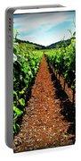 Napa Rows Of Grapes Portable Battery Charger