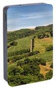 Napa Valley California Panoramic Portable Battery Charger