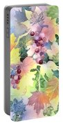 Napa Valley Morning 2 Portable Battery Charger by Deborah Ronglien