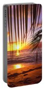 Napili Bay Sunset Maui Hawaii Portable Battery Charger