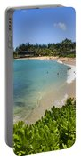 Napili Bay With Visitors Portable Battery Charger