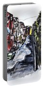 Naples City Street Portable Battery Charger by Clyde J Kell