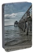 Naples Pier And Beach Fun Portable Battery Charger
