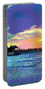 Naples Pier Florida Portable Battery Charger