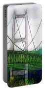 Narrows Bridge Abstract Portable Battery Charger