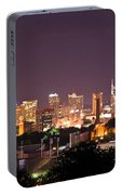 Nashville Night Scene Portable Battery Charger