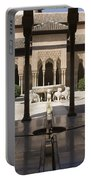Nasrid Palaces Alhambra Granada Spain Europe Portable Battery Charger