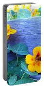 Nasturtium Box Portable Battery Charger