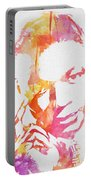 Nat King Cole Watercolor Portable Battery Charger