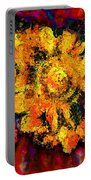 Natalie Holland Sunflowers Portable Battery Charger