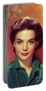 Natalie Wood, Vintage Actress Portable Battery Charger