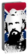 Nathan Bedford Forrest And The Rebel Flag Portable Battery Charger by War Is Hell Store
