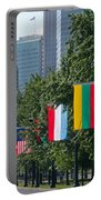 National Flags Of Various Countries Portable Battery Charger