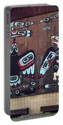 Native Alaskan Mural Portable Battery Charger
