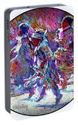 Native American - 3 Young Children Pow Wow Dancing Portable Battery Charger