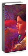 Native American - Boy Dancer Resting Portable Battery Charger