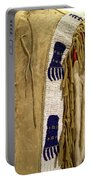 Native American Great Plains Indian Clothing Artwork Vertical 06 Portable Battery Charger