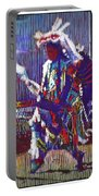 Native American - Male Fancy Dancer #4 Portable Battery Charger